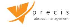 Precis Abstract Management Logo